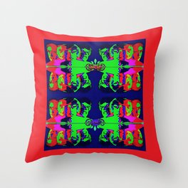 Anger Within Throw Pillow