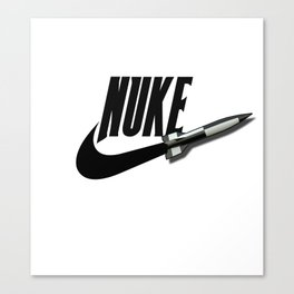 NUKE Canvas Print