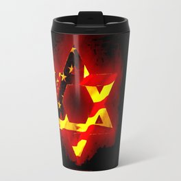 UNITED STATE OF ISREAL 011 Travel Mug