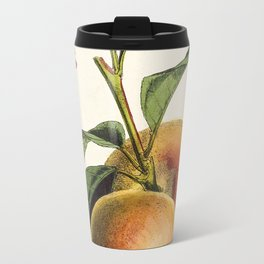 A peach plant - vintage illustration Travel Mug