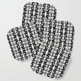 Tie-Dye Blacks & Whites Coaster