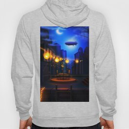 An night in megapolis. All done in vectors only, baby, yeah! Hoody