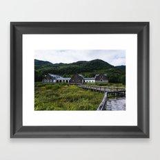 Abandoned Building, Loch Lomond Framed Art Print