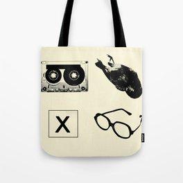 my 4 square Tote Bag