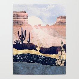 Autumn Desert Poster