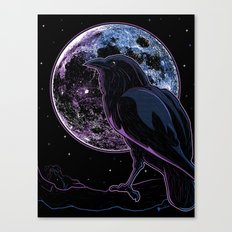 Raven of Nevermore Canvas Print