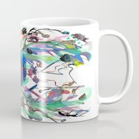 archan nair Mugs featuring Seventh Sense by Archan Nair