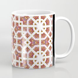 Geometrical Star Pattern Coffee Mug