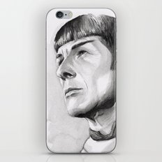 Star Trek Spock Portrait iPhone & iPod Skin