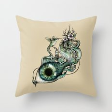 Flowing Inspiration Throw Pillow