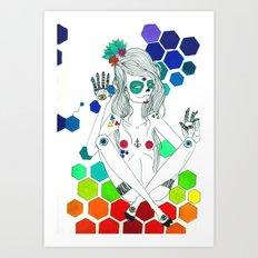 Phantasmagorique Art Print