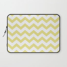 CHEVRON (KHAKI & WHITE) Laptop Sleeve
