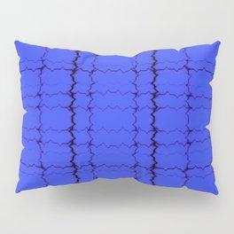 jagged, blue Pillow Sham