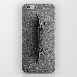 Resting Skateboard iPhone Skin