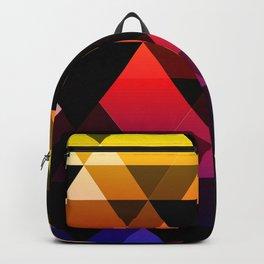 Bright Modern Trangles Backpack