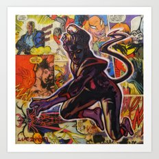 Nightrawler Art Print