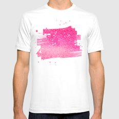 Ruby White MEDIUM Mens Fitted Tee