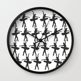 Dance Menagerie Wall Clock