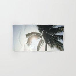 Palm Silhouette Hand & Bath Towel