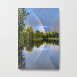 Rainbows: The gift from heaven to us all Metal Print