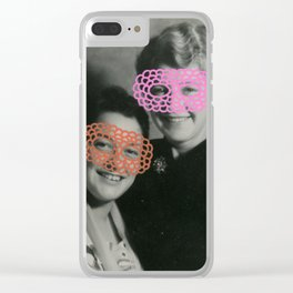 The Crochet Family 001 Clear iPhone Case