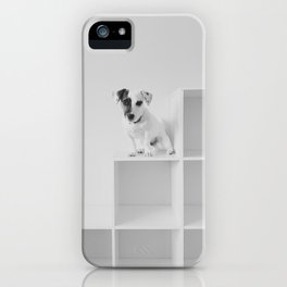 Puppy waiting iPhone Case