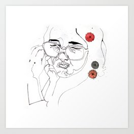 squash Art Print