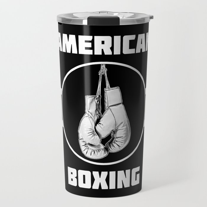 American Boxing Travel Mug
