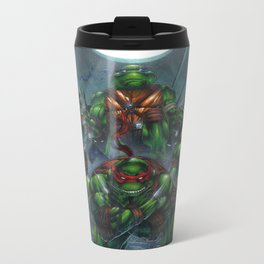 Heroes in a Half Shell Metal Travel Mug