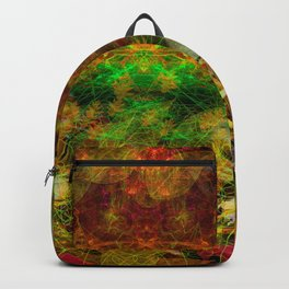 Scatterings (autumn, abstract, leaves) Backpack