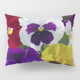 Pansies! Pillow Sham