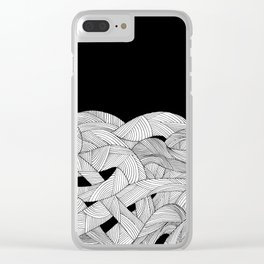 The tangled sea Clear iPhone Case