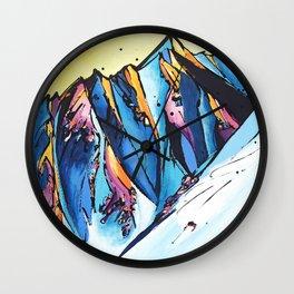 The Chugach Wall Clock