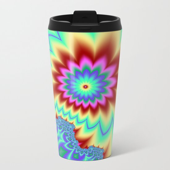 It's Summertime! Metal Travel Mug