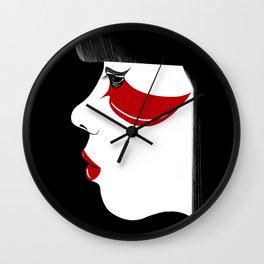 Modern Geisha Wall Clock