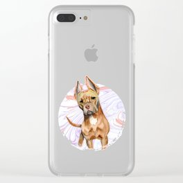 Bunny Ears 2 Clear iPhone Case