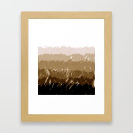 Shades of Sepia Framed Art Print