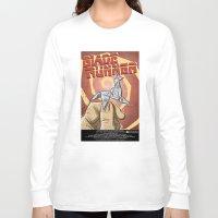blade runner Long Sleeve T-shirts featuring Blade Runner   by Joe Badon