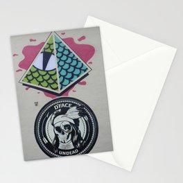 Street Art Malaga Two Stationery Cards
