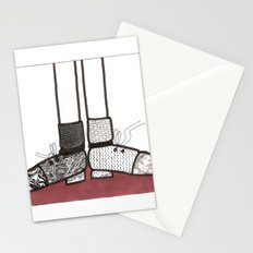 in my shoes Stationery Cards