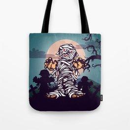 Hallow Zombie Tote Bag