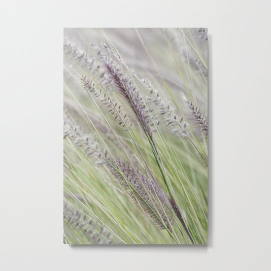 Purple Rustle (variation) Metal Print