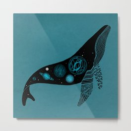 Whale Soul & the Galactic Tour Metal Print