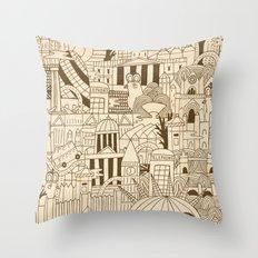 London UK Throw Pillow
