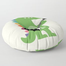 Croco Rock Floor Pillow