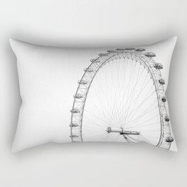 The Eye London Rectangular Pillow