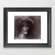 yalnızlık Framed Art Print
