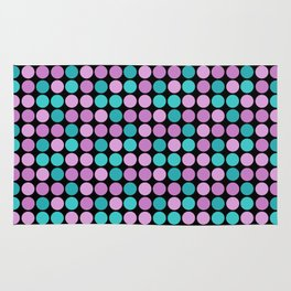 A simple polka dot pattern 2 Rug