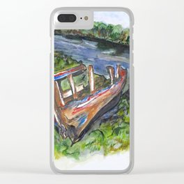 Old Memory Clear iPhone Case