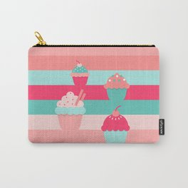 cupcakes colors Carry-All Pouch